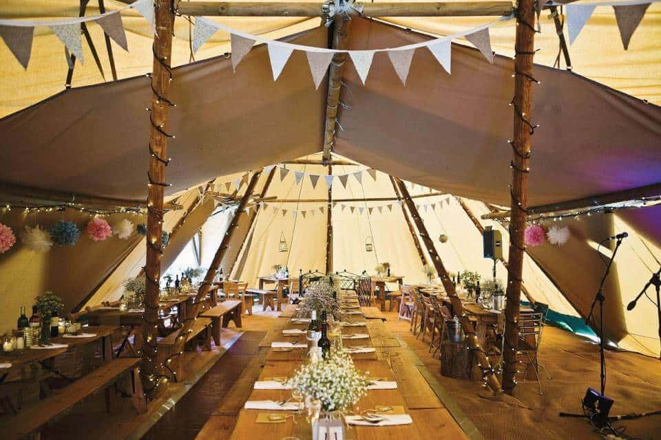 Tipi Tents Nottingham Tipi Hire Mansfield Buster Marquees