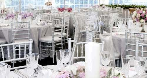 marquee table place settings