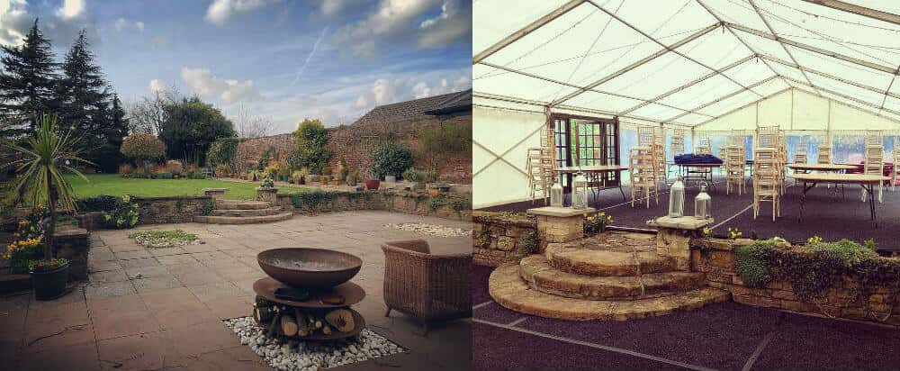 Benefits of hiring a marquee - Before and After
